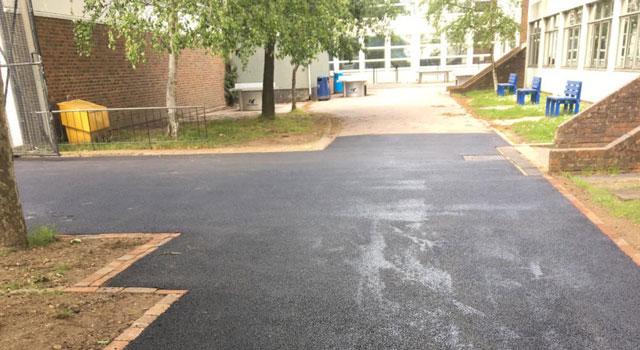 Tarmac Road Surfacing - Chigwell School - Bestco Surfacing